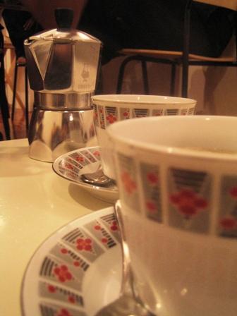 Syphon Coffee Close Up