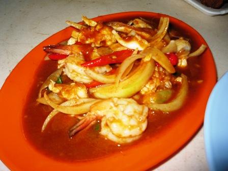 Spicy Kau Pat Prik