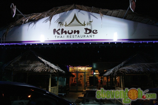 Khun De Thai, Jelutong – Spicy Authentic Thai Food