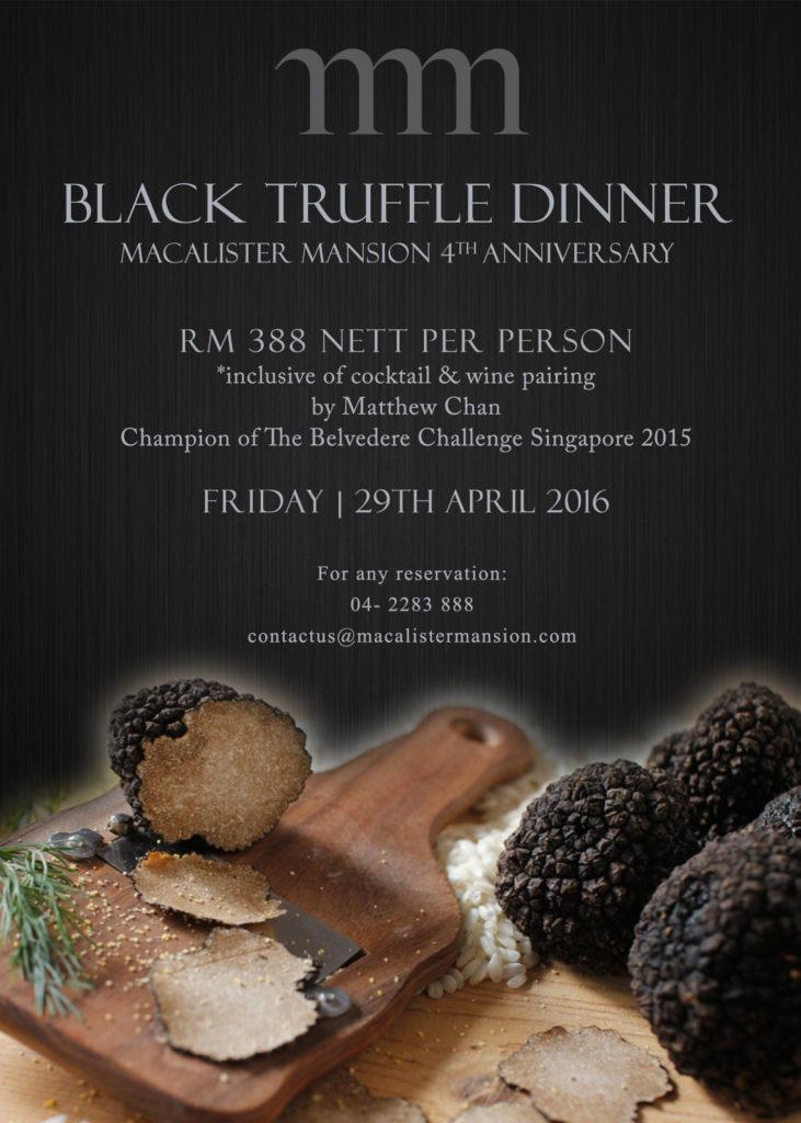 Black Truffle Dinner