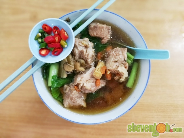 how to make chicken soup with a drumstick